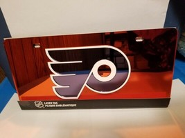 NHL Philadelphia Flyers Laser License Plate Tag - Orange - $29.39