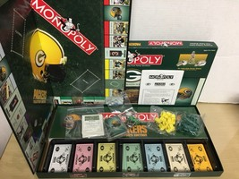 2003 P Bros- Green Bay Packers Monopoly Game - complete Ex/NM image 2