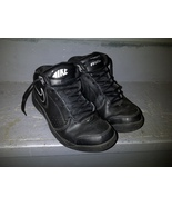 Nike Overplay V 395857 002 Black Silver White Basketball Shoes Sneakers 8.5 - $34.99