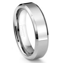 6mm Unisex Tungsten Wedding Ring Band; Matte Finish Sizes 5-16 With Half... - $24.95