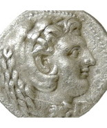 ALEXANDER the Great LIFETIME Tetradrachm Ancient Greek Silver Coin Herakles - $395.10