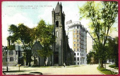 DETROIT MICHIGAN Church of Our Father Tuller 1909 MI