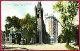 DETROIT MICHIGAN Church of Our Father Tuller 1909 MI - $5.00