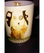Doggy and Daisy 12 Ounce Ceramic Coffee Mug Tea Cup and Decorative Box - $6.80