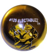 POKEMON MARBLE ELECTABUZZ #125 COLORED GLASS MA... - $10.98