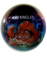 POKEMON MARBLE KINGLER #99 METALLIC COLORED GLA... - $9.98