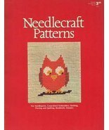 Needlecraft Patterns For Needlepoint, Cross-Stich Embroidery, Knitting, ... - $10.00