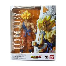Bandai S.H.Figuarts Dragon Ball Z Super Saiyan Son Goku Super Warrior Aw... - $119.00