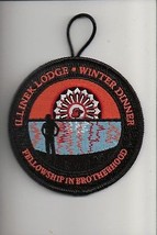 2011 Lodge 132 Illinek Winter Dinner Fellowship Brotherhood OA patch - $5.94