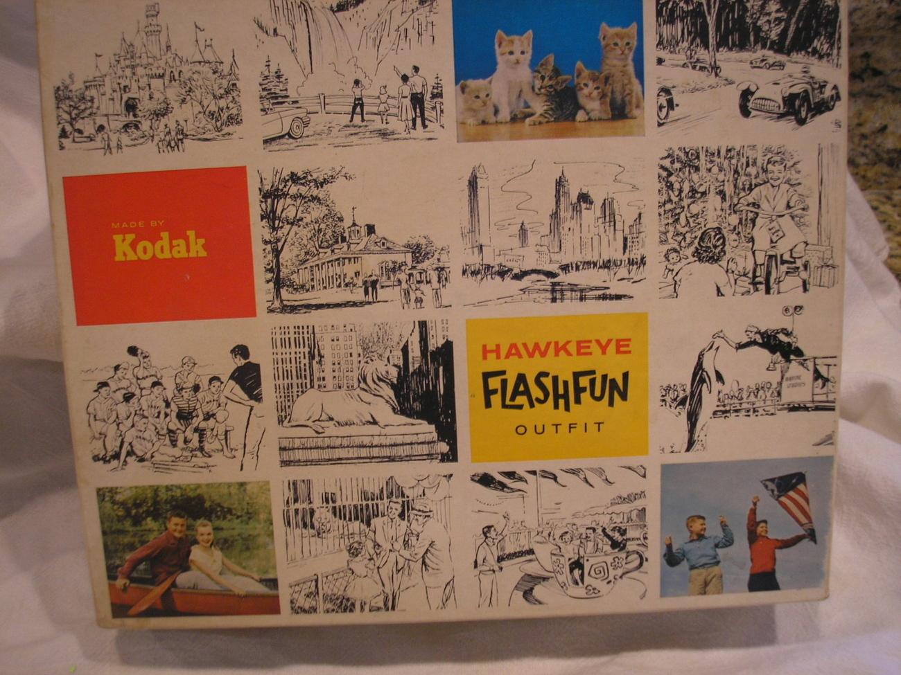Antique Vintage 1950's  HAWKEYE FLASHFUN OUTFIT IN ORIGINAL BOX No. 22K
