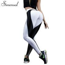 Simenual Heart pattern mesh splice legging harajuku athleisure fitness c... - $24.40