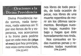 Oraciones a la Divina Providencia image 5