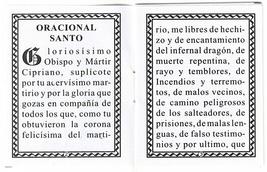 Oraciones a San Cipriano - L20.0001 image 3