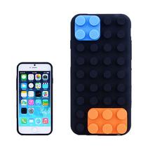 iPhone 6 Lego Building Block Texture Silicone p... - $9.98