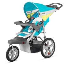 InStep Grand Safari Single Swivel Stroller, Blue/Yellow - $210.36