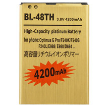 4200mAh High Capacity Gold Business Battery for LG Optimus G Pro / F240K... - $25.38