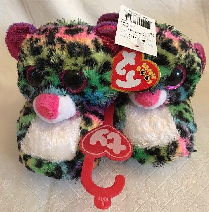 3427a928c7b Nwt Ty Beanie Boo Dotty Leopard Plush Big and similar items. S l1600