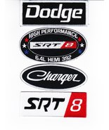 CHARGER 392 SEW IRON ON FOUR PATCH COMBO BADGE EMBLEM EMBROIDERED - $18.99
