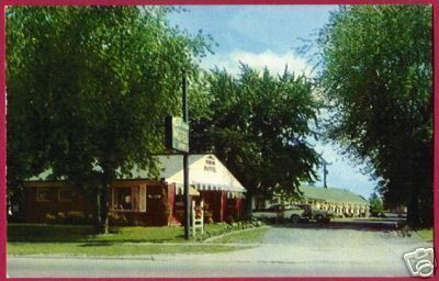 Primary image for INKSTER MICHIGAN Rancho Motel 1966 MI