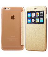 iPhone 6 Gold Luxury Flower of Palace Pattern Flip Leather Case with Car... - $10.34