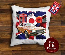 Ford Granada MK1 Cushion Cover, Granada MK1, Union Jack,Target, Poppy, - $9.01+