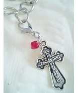Tibetan Silver Cross Zipper Pull Great For Chain Link Bracelets And  Nec... - $5.99
