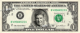 HARRISON FORD on a REAL Dollar Bill Cash Money Collectible Memorabilia C... - $5.55
