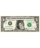 HARRISON FORD on a REAL Dollar Bill Cash Money Collectible Memorabilia C... - €5,02 EUR