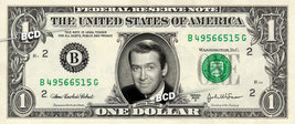 JAMES STEWART on REAL Dollar Bill -  Collectible Celebrity Cash Gift Money - $4.44