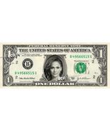JENNIFER LOPEZ on REAL Dollar Bill -  Collectible Celebrity Cash Gift Money - €7,21 EUR