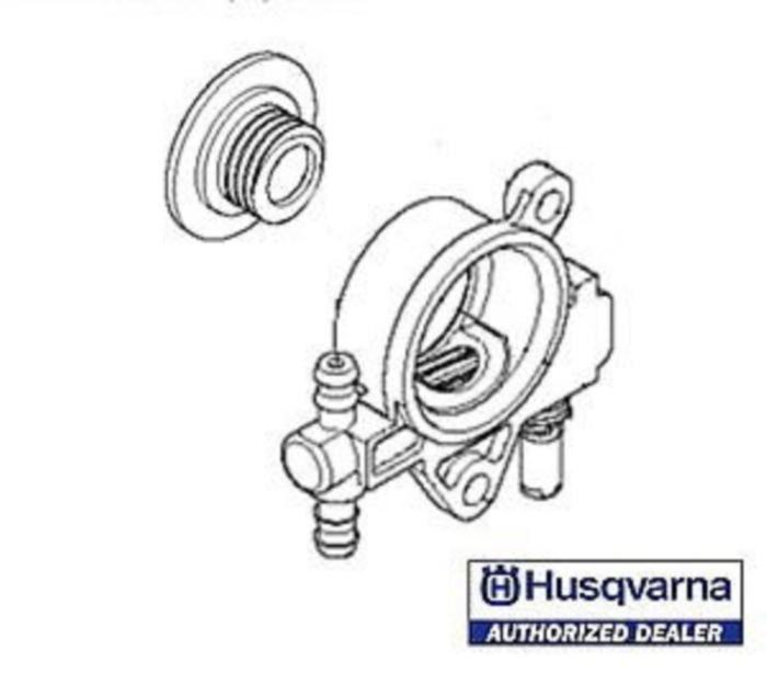 Husqvarna oil oiler pump # 521586001 fits T435 chainsaw - $53.99