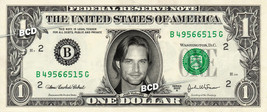 JOSH HOLLOWAY on REAL Dollar Bill -  Collectible Celebrity Cash Gift Money - $4.44