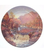 Danbury Mint The Salmon Leap Gone Fishing plate Graham Twyford - CP1682 - $37.75