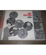 1987 Ford Mustang Electrical Wiring Diagrams Service Shop Repair Manual ... - $69.25