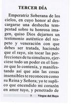 Novena en Honor a la Virgen de la Rayo image 2