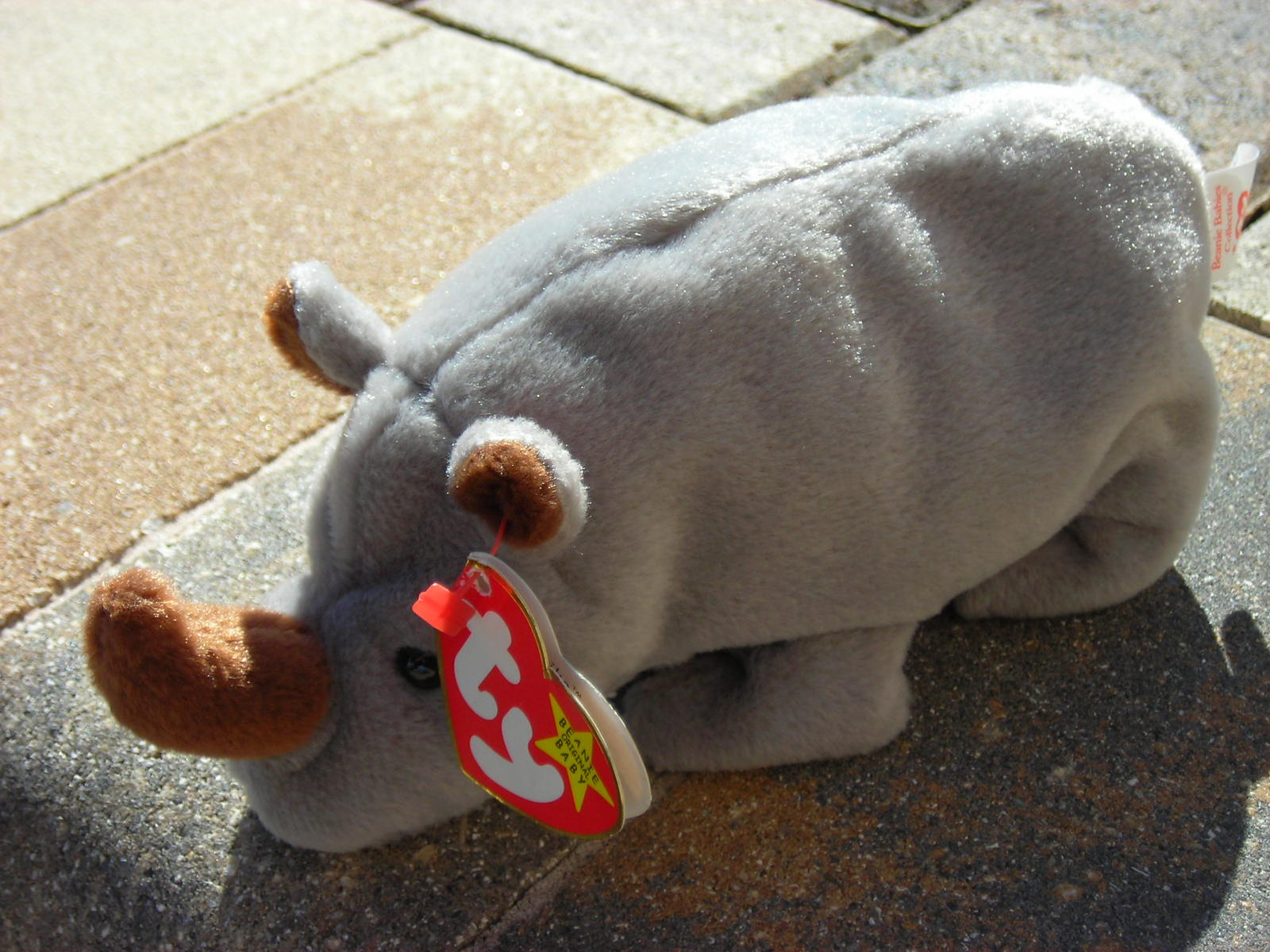 0788443c0ce Beanie Babies Baby TY Spike the Rhino Grey and 40 similar items. Dscn2160