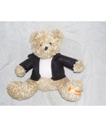 "Galerie REESE'S Bear 7"" Plush in Faux-Leather Jacket - $5.50"