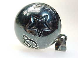 STERLING Silver HARMONY Ball Musical Chime PENDANT - Sun, Star, Moon, Pl... - $85.00