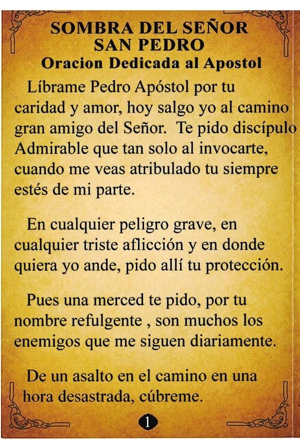 Sombra del Señor San Pedro - Gula y Guardián and 48 similar items