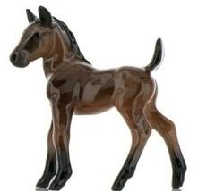 Hagen Renaker Miniature Horse Mustang Colt Ceramic Figurine Boxed