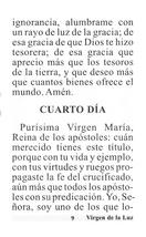Novena en Honor a la Virgen de la Luz - L330.0017 image 2