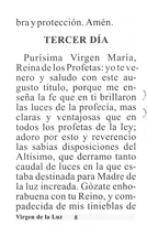 Novena en Honor a la Virgen de la Luz - L330.0017 image 3