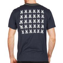 Men's Psycho Bunny Graphic Shirt Hatton 2 Sided Digital Pixel Logo T-shirt XS image 3