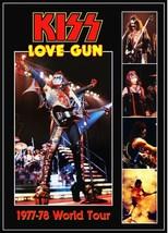 KISS Band Gene Simmons Love Gun 1977-78 Tour Stand-Up Display - The Demo... - $15.99