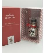 "Hallmark Keepsake ""Let It Snowman"" Ornament w Box - $15.73"