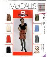 1997 SET OF SKIRTS Pattern 9148-m Size 8-10-12 - UNCUT - $9.99