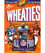 wheaties cereal box all pro running backs marcus allen barry sanders t.t... - $9.99