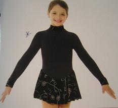 Mondor Model 4403 Polartec Long Sleeve Skating Dress Color DD Size 8-10 - $74.79