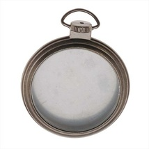 "Pocket Watch Frame Pendant 2"" cross stitch Idea-Ology Tim Holtz  - $8.50"