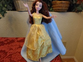 Disney Beauty & the Beast Princess Belle Barbie Size Doll - $9.99